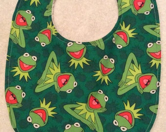 Kermit the Frog Baby Bibs