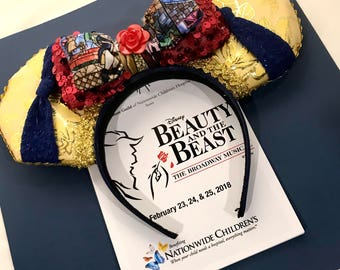 Beauty and the Beast Mickey Mouse Ears