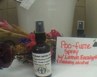 Poo-fume spray just like poopouri