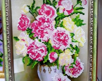 Picture of diamond embroidery