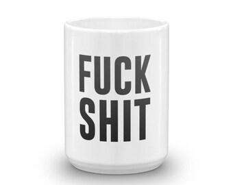 Swear Words Mug/big coffee mugs/cool coffee mugs/15 oz coffee mugs/giant coffee mug/offensive mugs