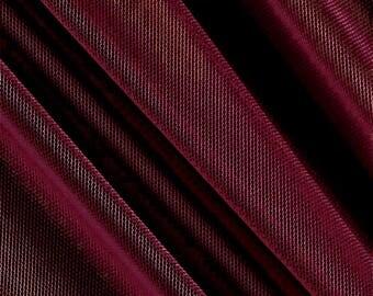 Katie BURGUNDY English Netting Fabric by the Yard - 10067