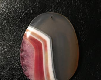 Natural Agate Gemstone Pendant