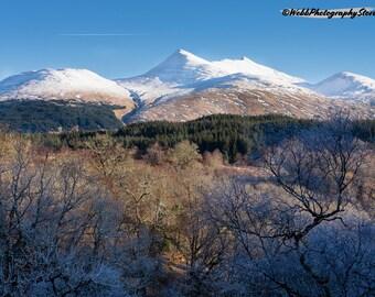 Ben Cruachan Mountain Landscape Photography Print