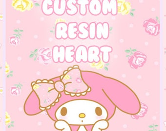 TOP UP Custom Resin Heart