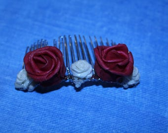 Alice Roses Hair Comb