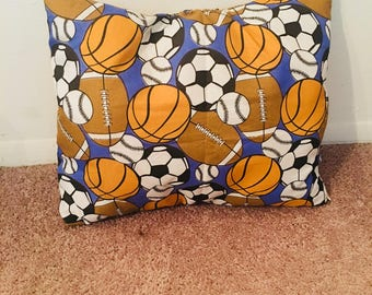 Handcrafted Sporting Accent Pillows