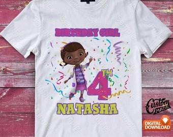 Doc Mcstuffins Iron On Transfer, Doc Mcstuffins Birthday Shirt, Doc Mcstuffins Shirt Designs, Doc Mcstuffins Printable, Digital Files