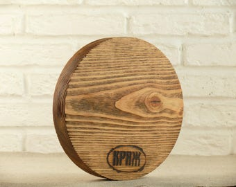 Siberian larch etsy round wood cutting board 787 handmade farmhouse rustic wood kitchen cutting board sciox Image collections