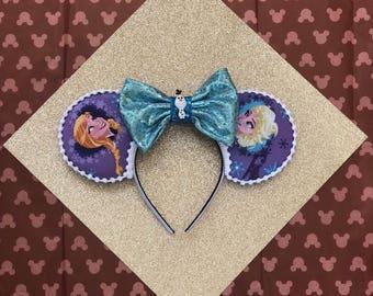 Elsa and Anna Frozen Disney Ears
