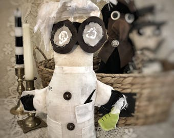 "Mad Scientist ""Spoopy Doll"""