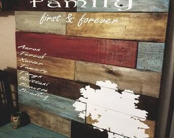 Rustic Family Forever