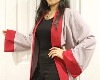 Not So Grey Kimono abaya