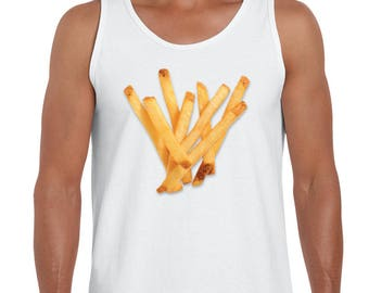 French Fry High Def Tanktop
