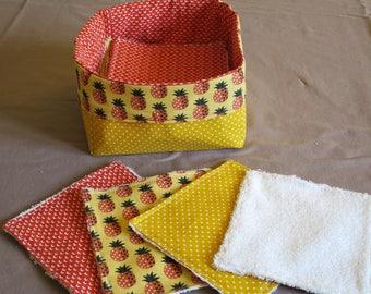 Basket of wipes