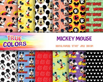 Mickey Mouse - Digital Paper