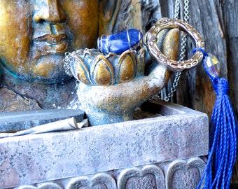 Polished Sodalite Necklace