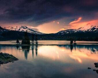 Fire on the Mountain   Oregon Landscape Photography, Pacific Northwest, Fine Art, Landscape Photography, Oregon Photography, Sunset, Oregon