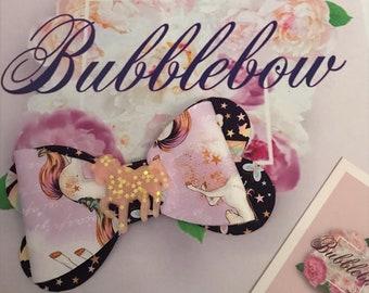 Unicorn princess bow