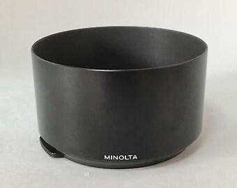 Minolta genuine metal lens hood a 70-210 / 4 ee-k1067