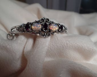 "Sarah Coventry ""Opal Treasure"" Bracelet-C. 1974"