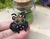 BB monarch butterfly weebeast & citrine earth treasure life source - small jar included