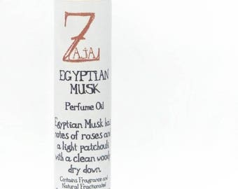 Egyptian Musk Perfume Oil By ZAJA Natural