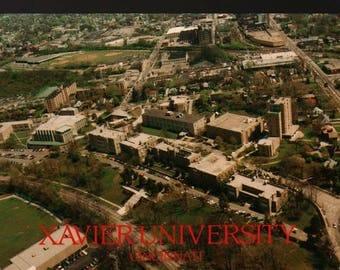 Xavier University – Cincinnati, Ohio – Vintage Souvenir Postcard