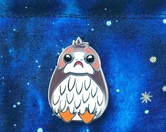 Galatic Penguin hard enamel pin PREORDER