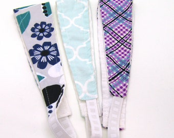 Clearance - Sale - Gift - Gracie Designs Headbands - 3 pack - plaids and florals