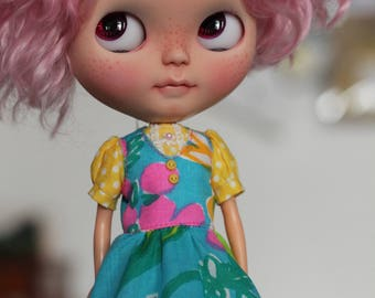 SALE OOAK Blythe vintage dress set