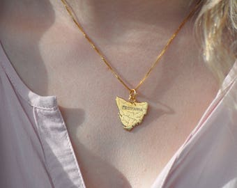 Tasmanian pendent silver or gold