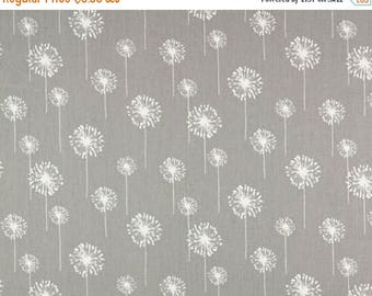 ON SALE - 10% Off Premier Prints Small Dandelion Storm Home Decorating Fabric BTY