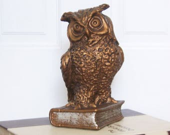 Owl – Large Wise Old Owl Figurine