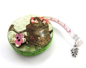 Measuring Tape Spring Flower Containers  Retractable Tape Measure