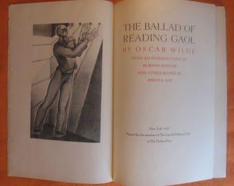The Ballad of Reading Gaol by Oscar Wilde