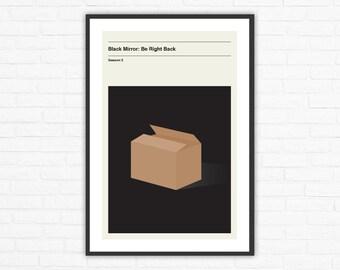 Black Mirror Season 2, Episode 1: Be Right Back Minimalism Movie Poster