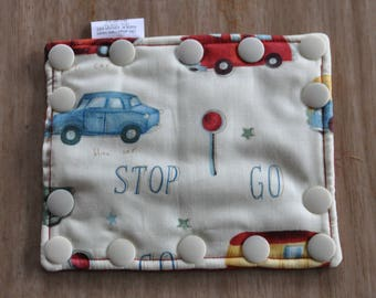 Feeding Tube Connector Cover - Cover up the Connection to prevent messes!  - Ready to Ship. Stop, Go, vintage cars.