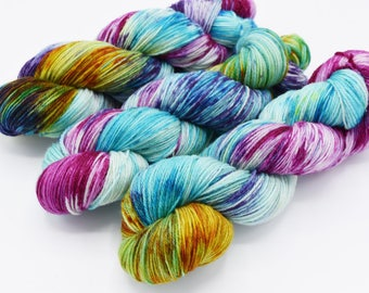It's Complicated, Hand Dyed Sock Yarn - In Stock