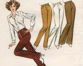 Unused MISSES JEANS PATTERN Kwik Sew #407 Size 14-16-18-20 Fly Front Flared Straight Narrow Legs Woven or Knit Kirsten Martensson Sewing