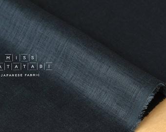 Nani Iro Kokka Naomi Ito Linen Colors Japanese Fabric - night petal - 50cm