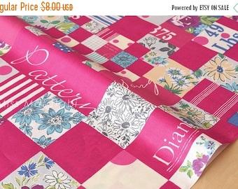 Japanese Fabric Suzuko Koseki - pink - 50cm