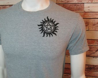 Supernatural Anti-Demon-Possession  Tattoo T-Shirt