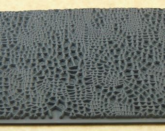 CRACKLE  Rubber Texture Tile Mat Stamp for Clay inks Paint Soap   TTL116