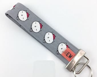 French Cats Key Fob For Mew