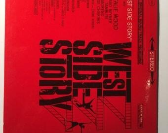 West Side Story Sound Track Vinyl Record LP