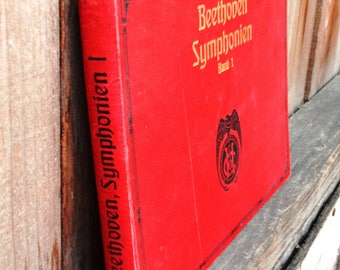 Beethoven Symphonien - Early 1900s Antique Sheet Music