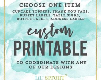 Custom Printable Decor Item