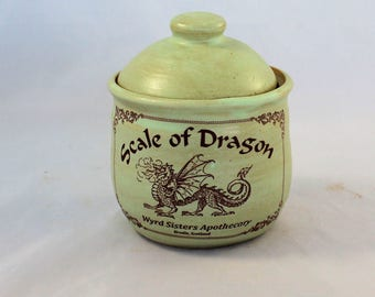 Scale of Dragon Ceramic Jar
