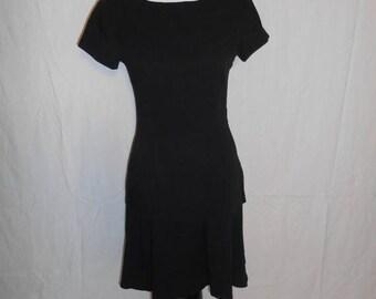 SALE 40% Off Vintage 90's black dress     bow     womens women ladies    clothing clothes